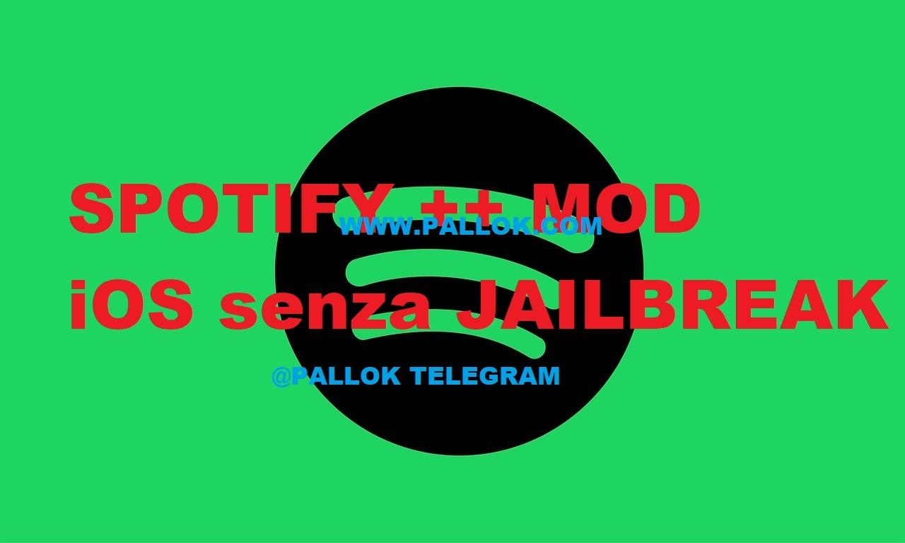 Spotify ++ MOD iOS | Versione premium senza jailbreak