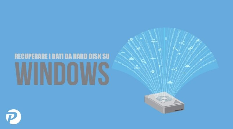 Come recuperare dati su hard disk da Windows (anche esterno)