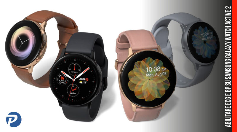 Abilitare ECG e BP su Samsung Galaxy Watch Active 2